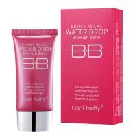 Многофункциональный увлажняющий питательный антивозрастной тональный BB крем с защитой от солнца Hot Pink Shiny Pearl Water Drop BB Cream