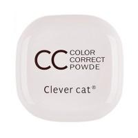 Компактная двойная CC пудра Clever cat
