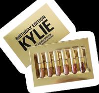 Лимитированный набор жидких матовых помад Kylie Birthday Edition