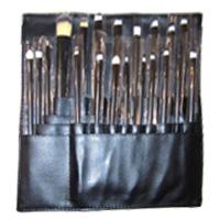 Профессиональный набор кистей для макияжа из 20 кистей и специального пояса визажиста