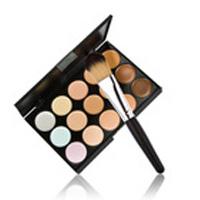 Профессиональная палитра консилеров (корректоров) 15 цветов - незаменимая для макияжа!