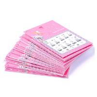Самоклеящиеся 3D объемные наклейки для дизайна ногтей в розово-черных цветах