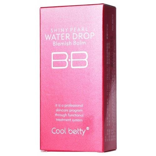 Многофункциональный увлажняющий питательный антивозрастной тональный BB крем с защитой от солнца Hot Pink Shiny Pearl Water Drop BB Cream 06