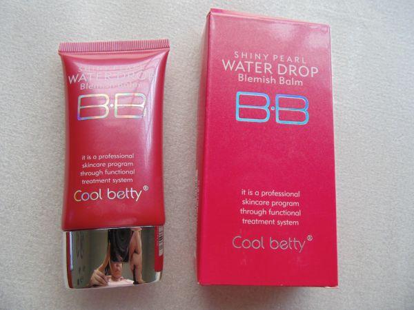 Многофункциональный увлажняющий питательный антивозрастной тональный BB крем с защитой от солнца Hot Pink Shiny Pearl Water Drop BB Cream 04