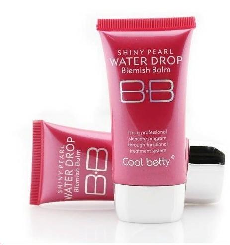 Многофункциональный увлажняющий питательный антивозрастной тональный BB крем с защитой от солнца Hot Pink Shiny Pearl Water Drop BB Cream 08