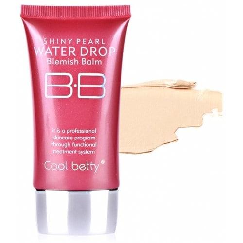 Многофункциональный увлажняющий питательный антивозрастной тональный BB крем с защитой от солнца Hot Pink Shiny Pearl Water Drop BB Cream 01