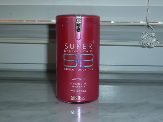 Многофункциональный увлажняющий питательный антивозрастной тональный BB крем с защитой от солнца Skin79 Hot Pink Super Plus BB Cream SPF25 PA++ 07