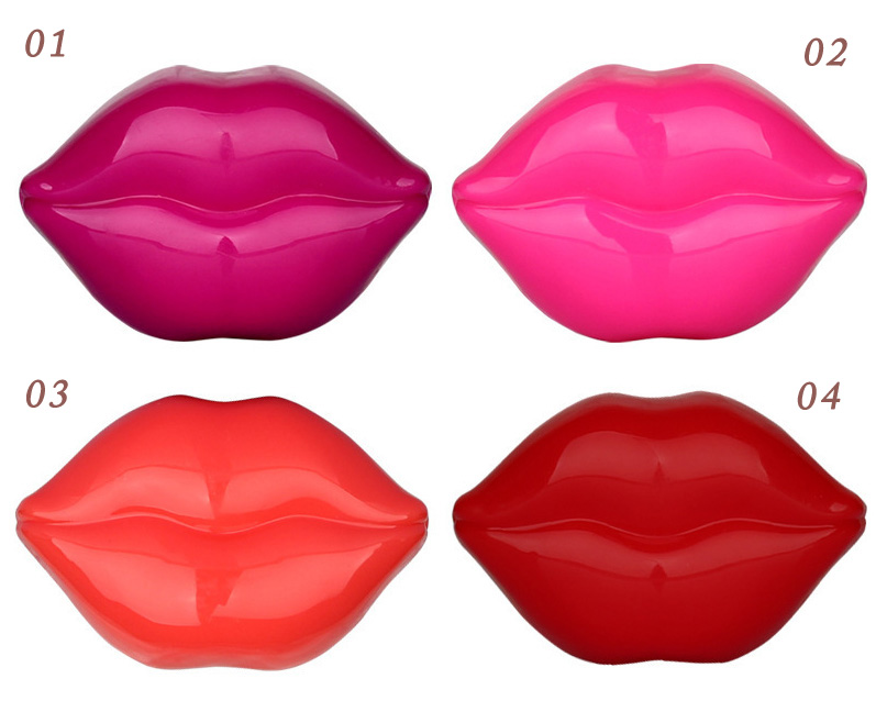 Оригинальный бальзам для губ/блеск для губ Поцелуй 01