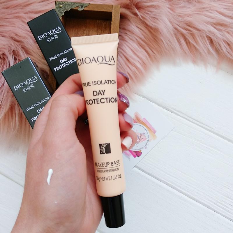 База под макияж с защитным эффектом Bioaqua Day Protection Makeup Base 08