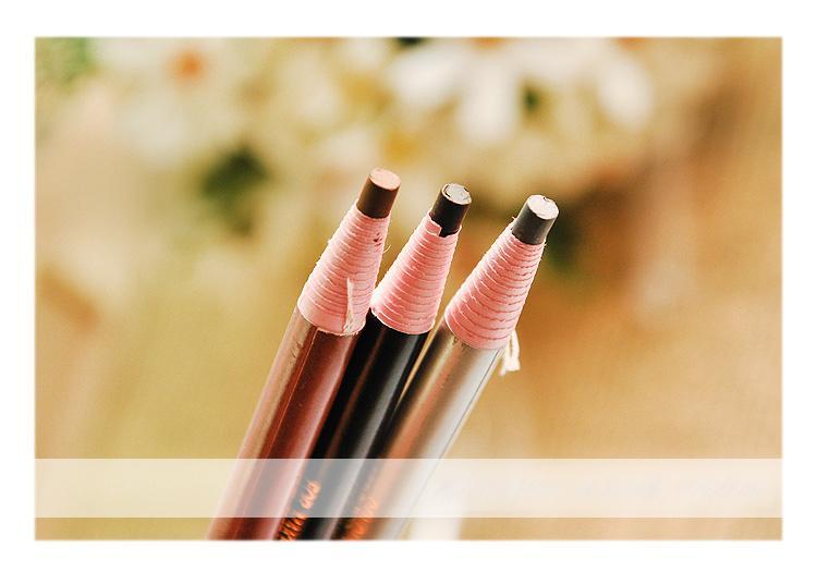 Бумажный карандаш для глаз и бровей 03
