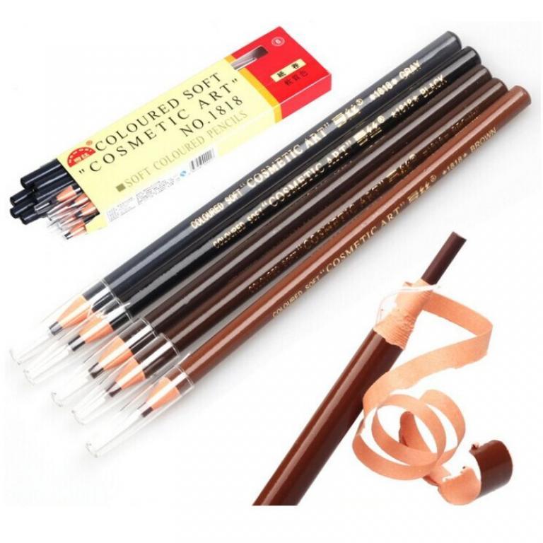 Бумажный карандаш для глаз и бровей 07