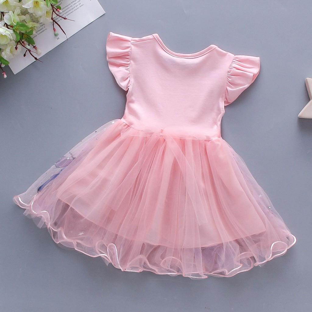 Детские нарядные платья Единорог 06