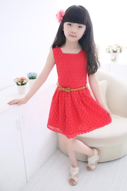 Детские нарядные кружевные платья 07