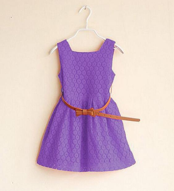 Детские нарядные кружевные платья 02