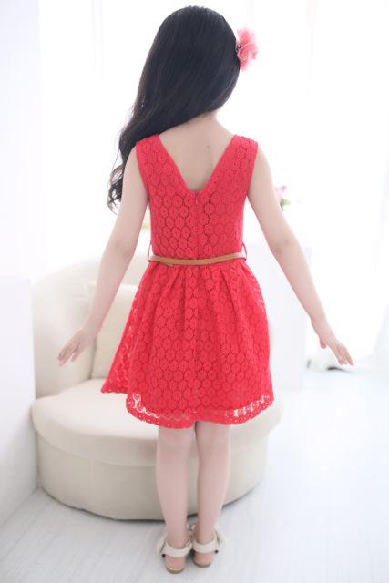 Детские нарядные кружевные платья 08