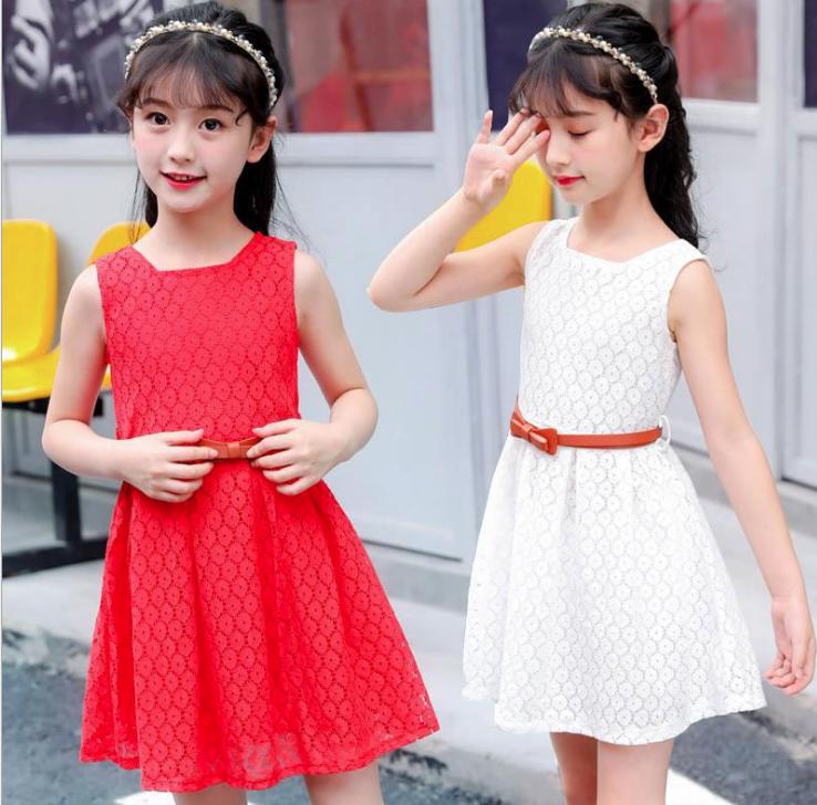 Детские нарядные кружевные платья 09