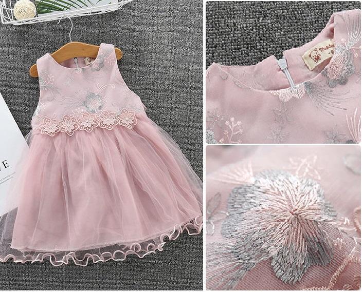 Детские нарядные платья 04