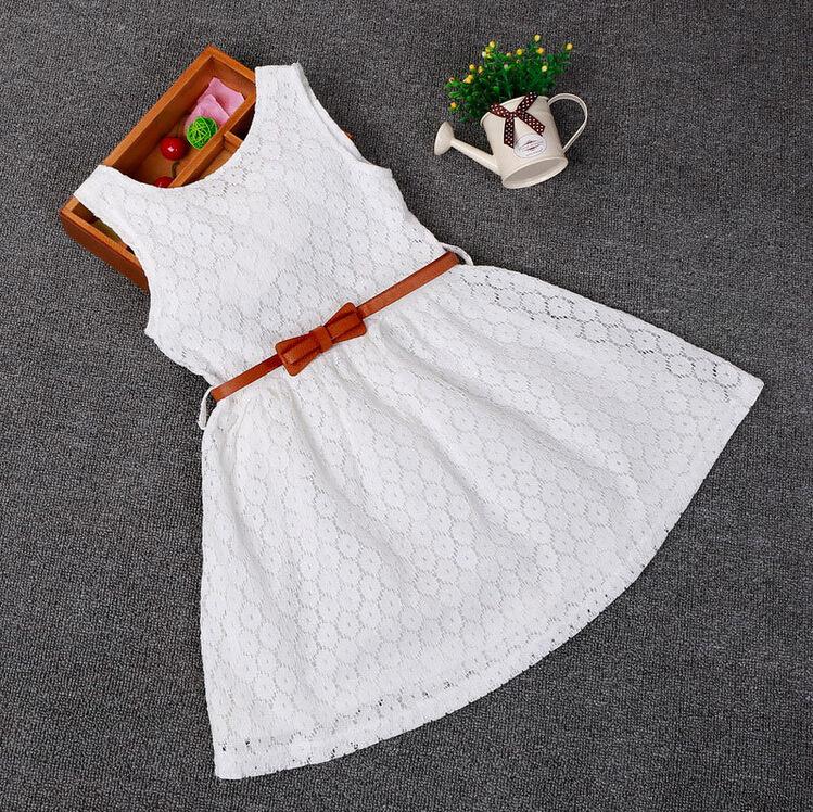 Детские нарядные кружевные платья 04