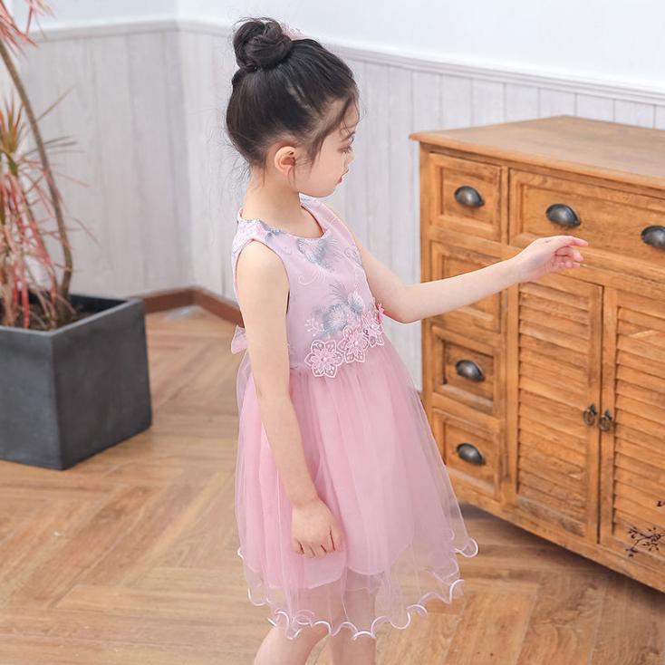 Детские нарядные платья 06