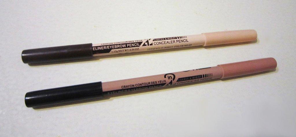 Двусторонний карандаш-хайлайтер для бровей 05