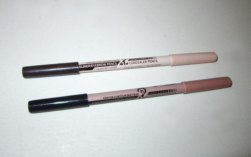 Двусторонний карандаш-хайлайтер для бровей 06