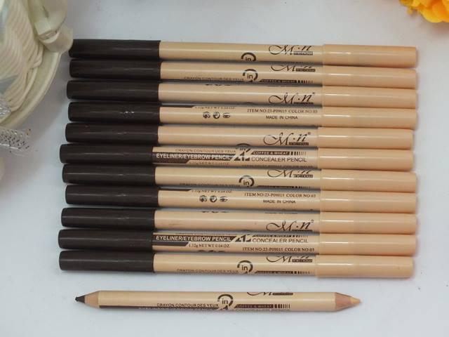 Двусторонний карандаш-хайлайтер для бровей 07