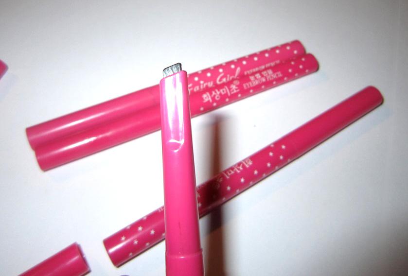 Механический карандаш для бровей с плоским грифелем 04