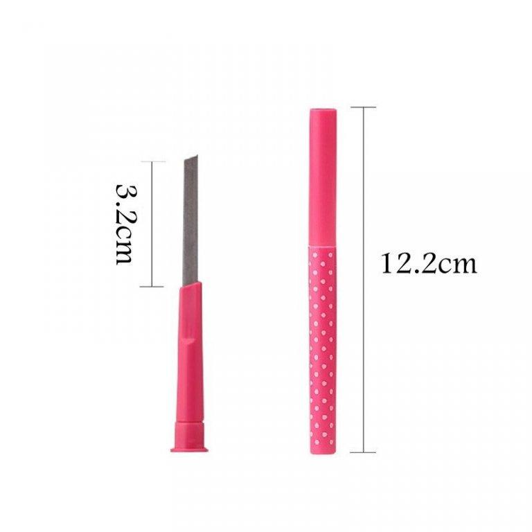 Механический карандаш для бровей с плоским грифелем 06