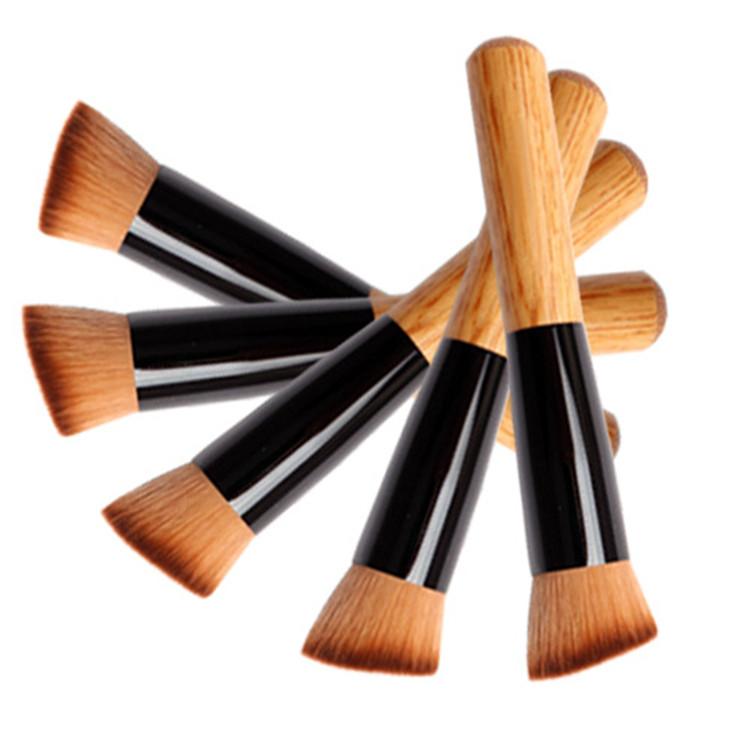 Кисть для макияжа многофункциональная,универсальная,косая копытце 01