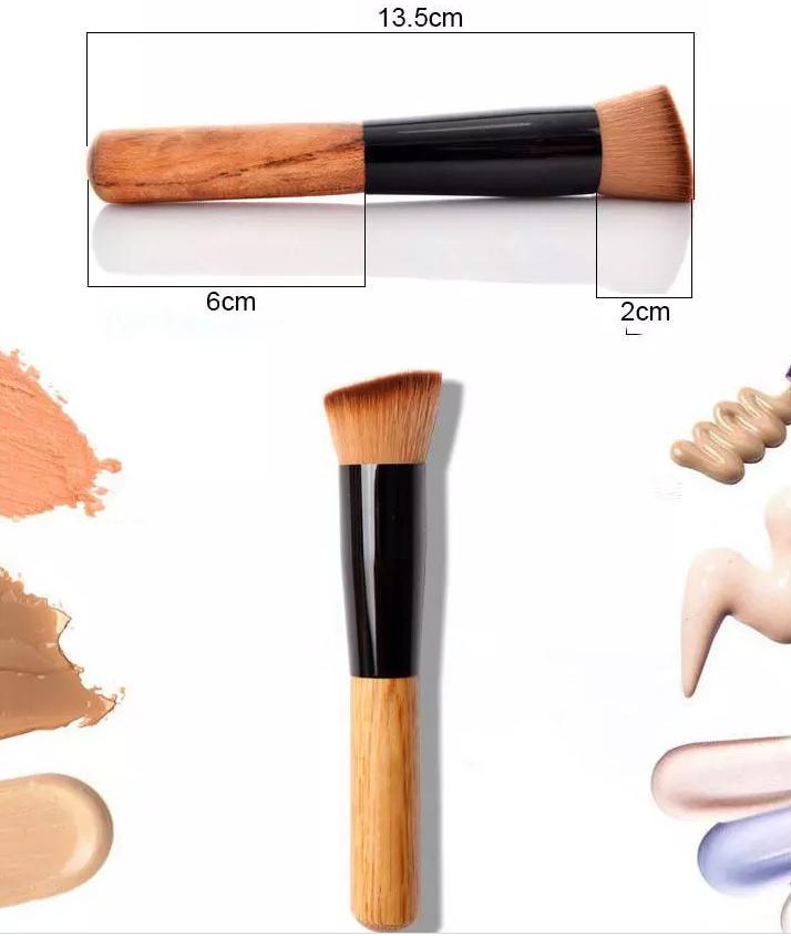 Кисть для макияжа многофункциональная,универсальная,косая копытце 07