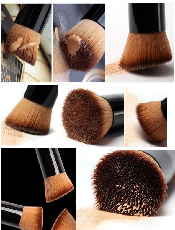 Кисть для макияжа многофункциональная,универсальная,косая копытце 06