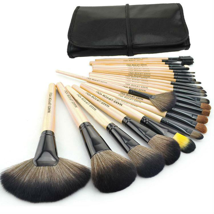 Профессиональный набор кистей для макияжа MAKE-UP FOR YOU 24 кисти