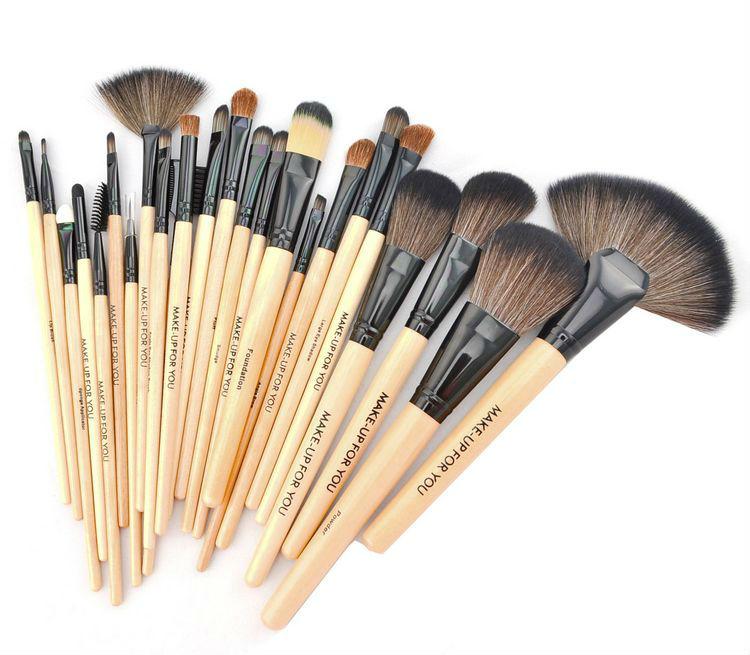 Профессиональный набор кистей для макияжа MAKE-UP FOR YOU 24 кисти 02