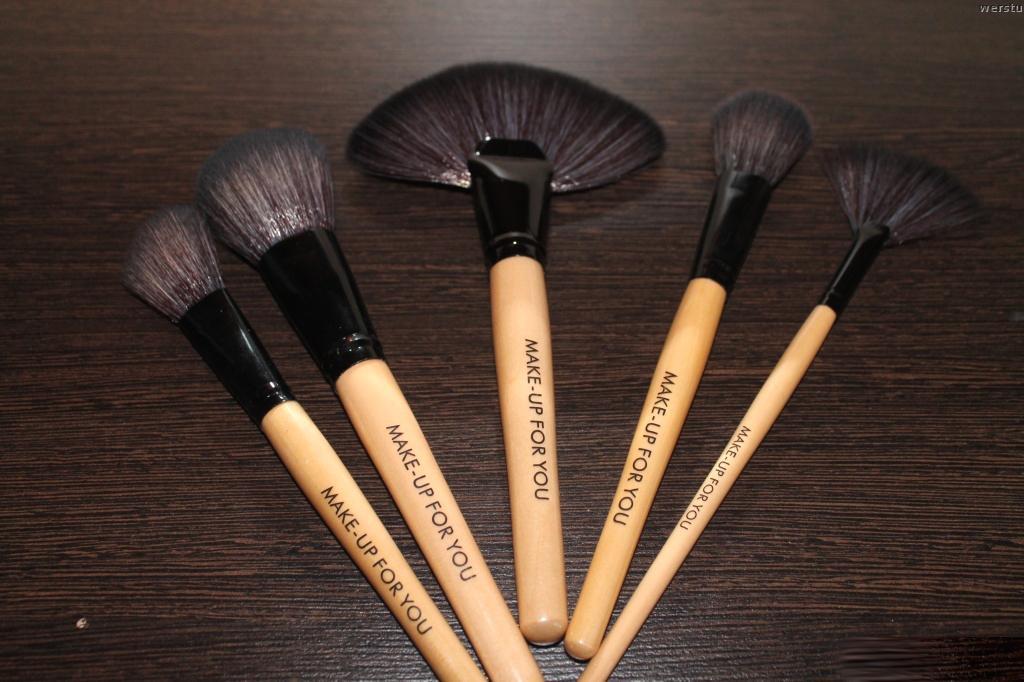 Профессиональный набор кистей для макияжа MAKE-UP FOR YOU 24 кисти 05