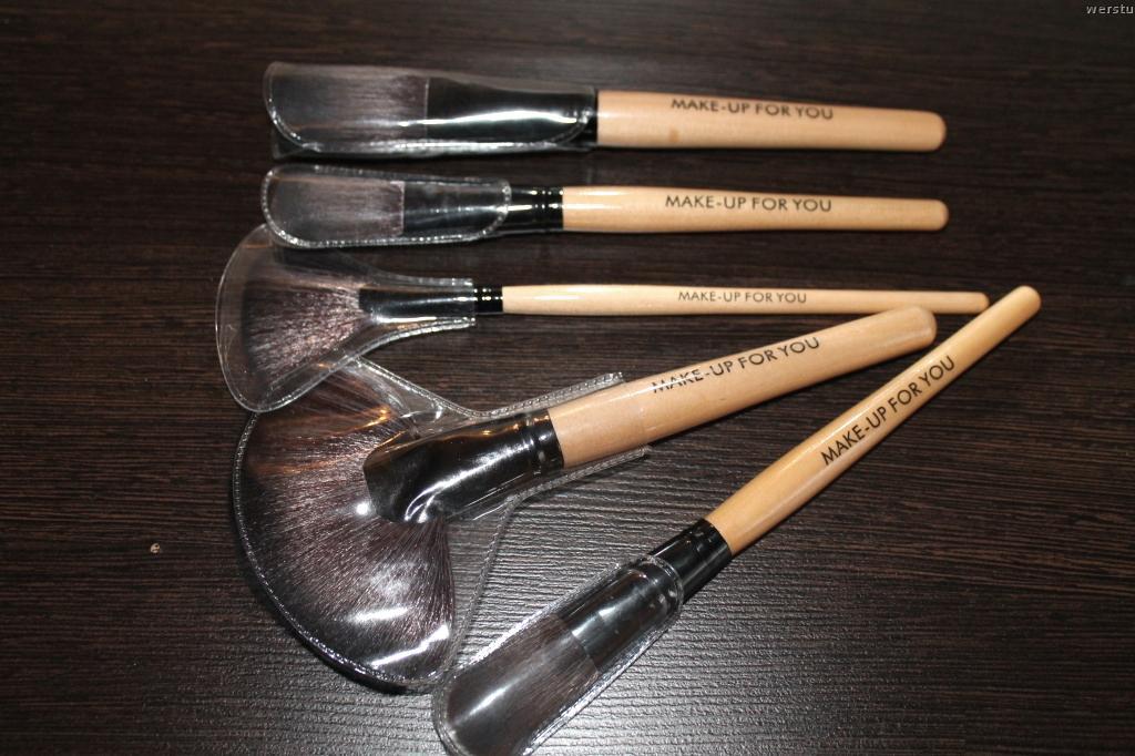 Профессиональный набор кистей для макияжа MAKE-UP FOR YOU 24 кисти 06