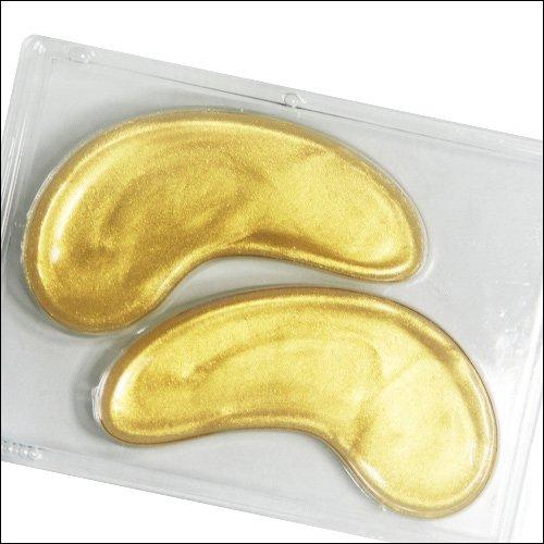 Коллагеновые маски под глаза с био-золотом Crystal Collagen Gold Powder Eye Mask 01