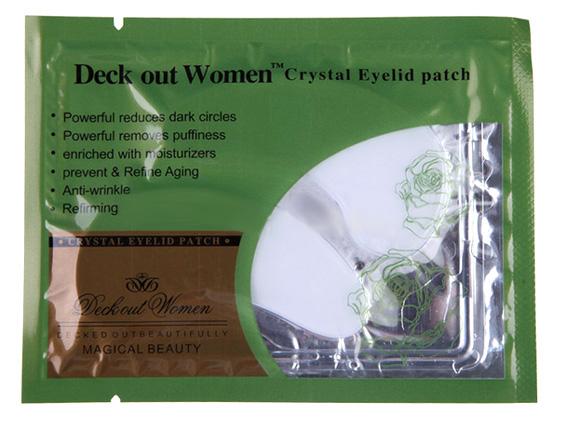 Коллагеновые маски под глаза с био-золотом Crystal Collagen Gold Powder Eye Mask 04