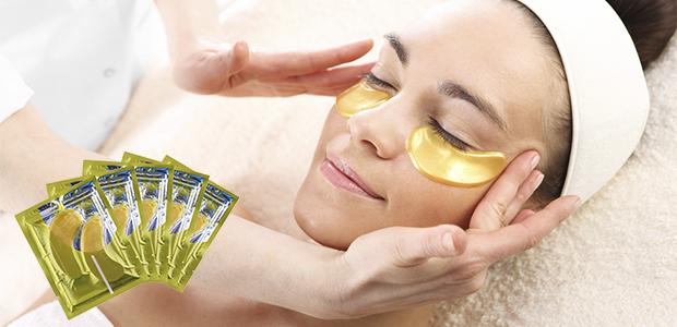 Коллагеновые маски под глаза с био-золотом Crystal Collagen Gold Powder Eye Mask 06