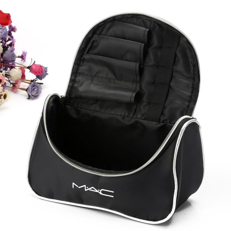 Вместительный кейс для косметики (косметичка) с логотипом Mac 07