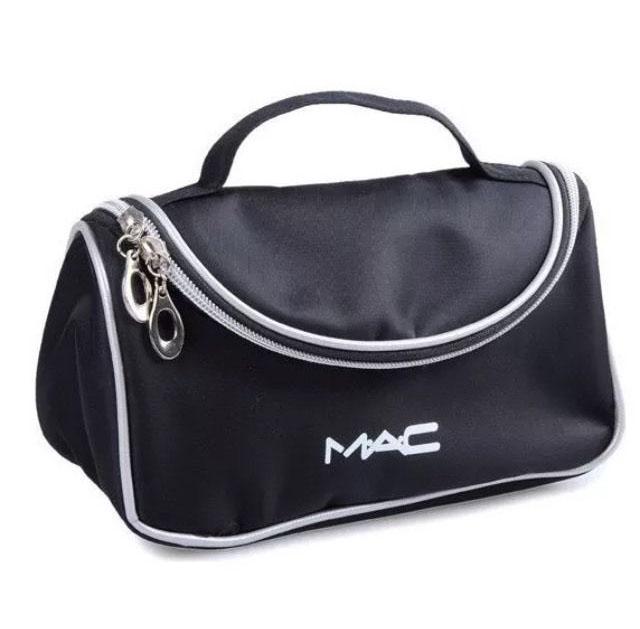 Вместительный кейс для косметики (косметичка) с логотипом Mac