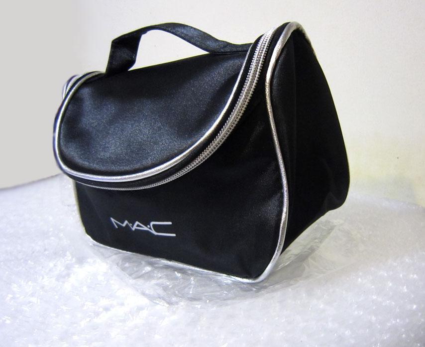 Вместительный кейс для косметики (косметичка) с логотипом Mac 05