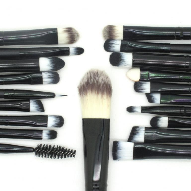 Профессиональный набор кистей для макияжа из 20 кистей и специального пояса визажиста 05