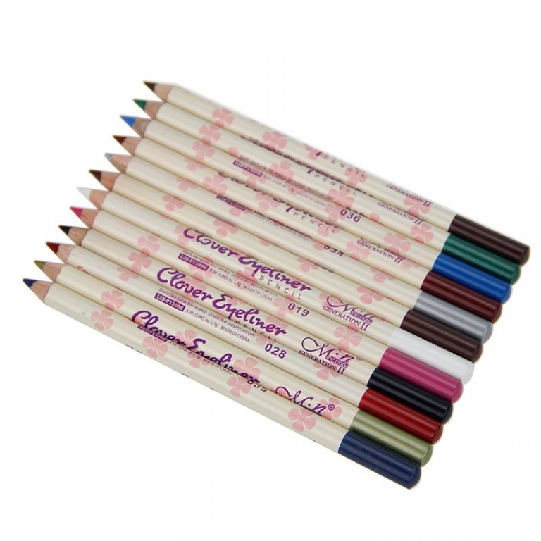 Набор из 12 карандашей для макияжа Clever Eyeliner 01