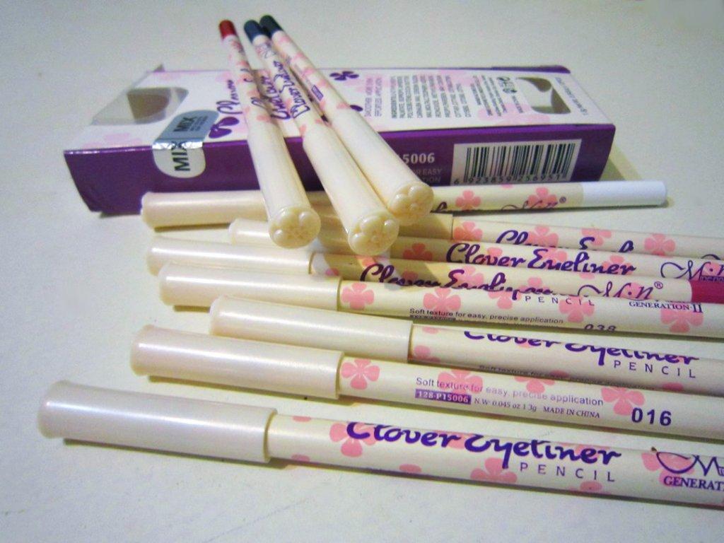 Набор из 12 карандашей для макияжа Clever Eyeliner 03