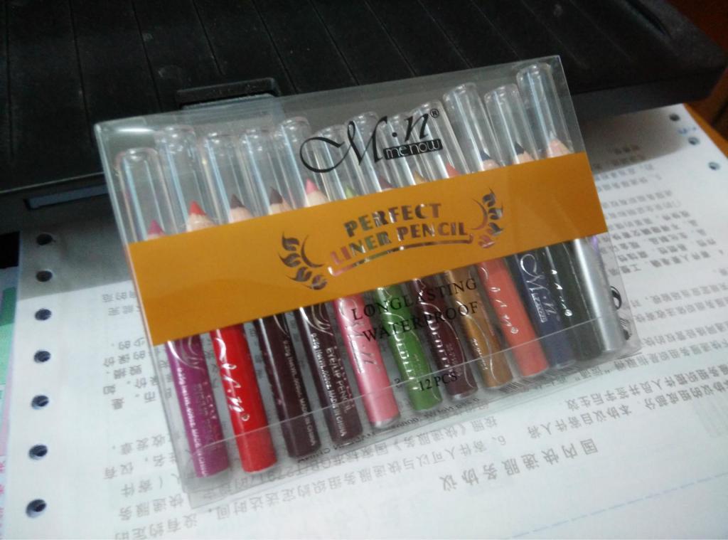Набор из 12 мини-карандашей для макияжа 02