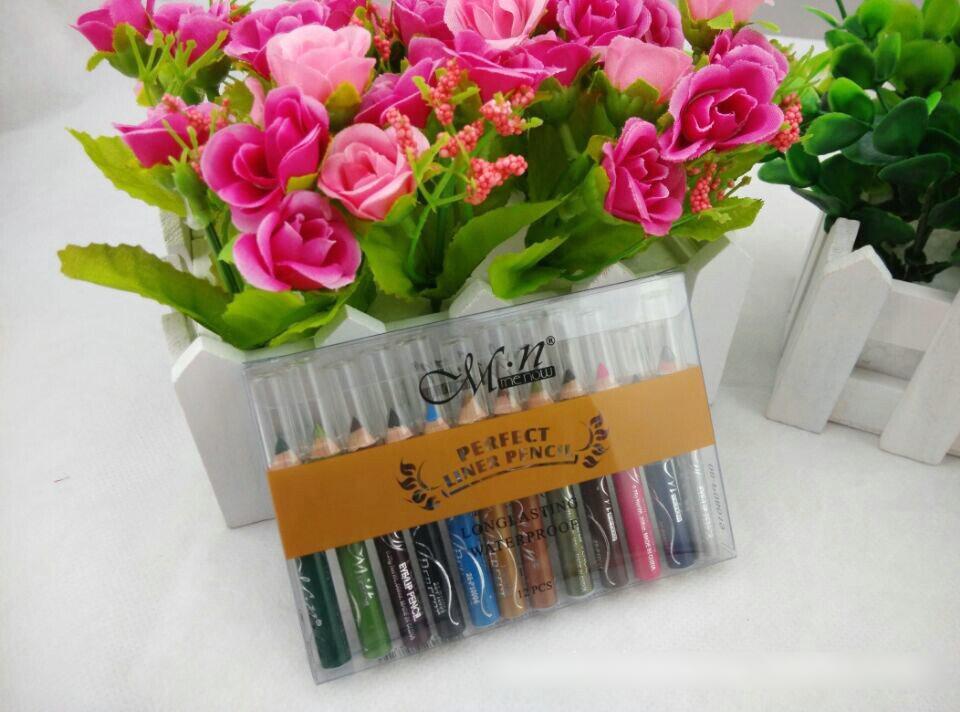 Набор из 12 мини-карандашей для макияжа 07