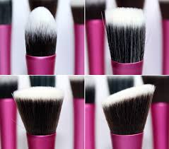 Профессиональный набор из 5 кистей  Real Tech для макияжа 10