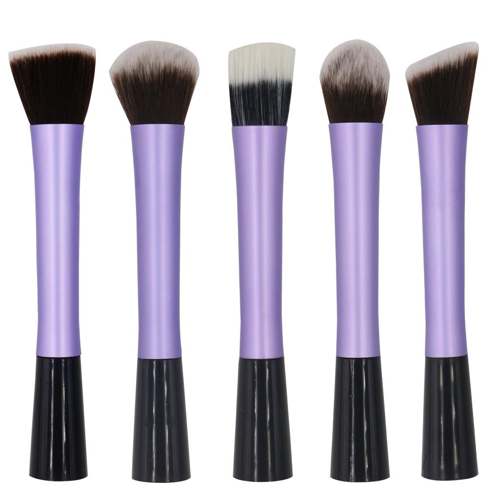 Профессиональный набор из 5 кистей  Real Tech для макияжа 06
