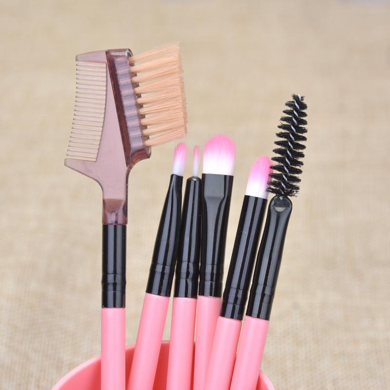 Набор кистей для макияжа 12 штук в тубусе 11