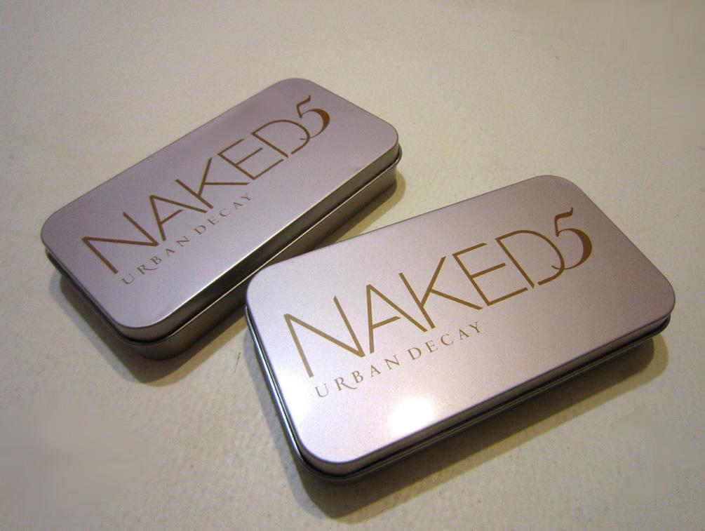 Набор кистей для макияжа Naked5 из 7 кистей 07